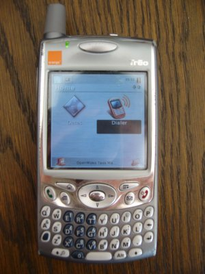 OpenMoko on a Treo 650